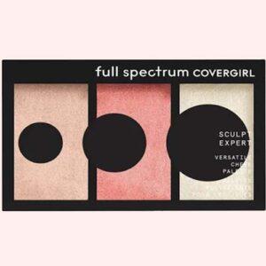 Covergirl Full Spectrum Sculpt Expert Multiuse Cheek Palette, Blush Touch