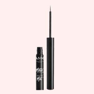 NYX PROFESSIONAL MAKEUP Matte Liquid Eyeliner, Black